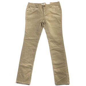SO Stretch Corduroy Skinny Pant in Sandstone